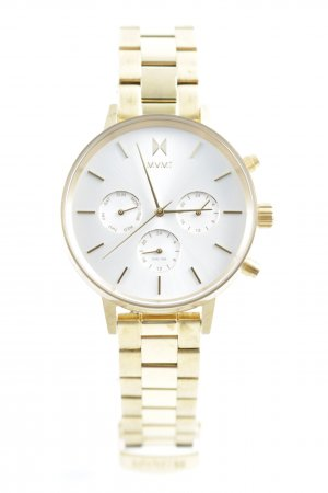 MVMT Watch With Metal Strap gold-colored casual look