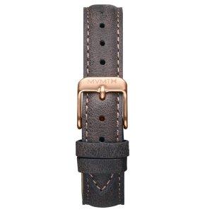 MVMT Montre avec bracelet en cuir or rose-taupe