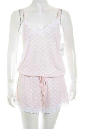 my closet by Speidel Jumpsuit rosé-weiß Sternenmuster klassischer Stil