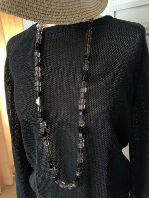 *My Delight*, Glassteinkette in Chanellänge  mit Magnetschliesse