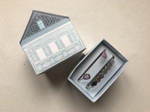 Bracciale argento-rosa pallido