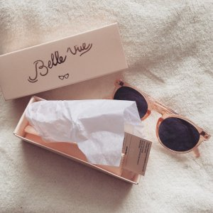 My little Box Bow Sonnenbrille Neu / OVP