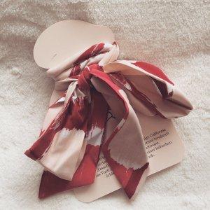 Zijden doek rosé-donkerrood