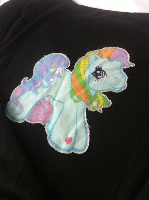 My little pony Shirt aus Baumwolle in schwarz Gr. 36