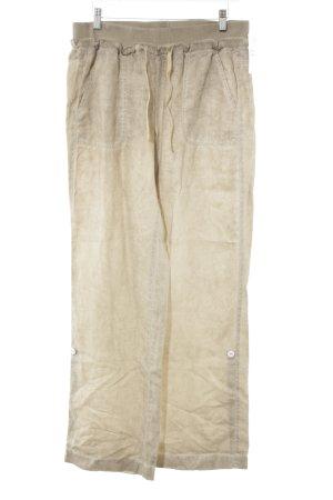 MYBC Leinenhose beige Casual-Look