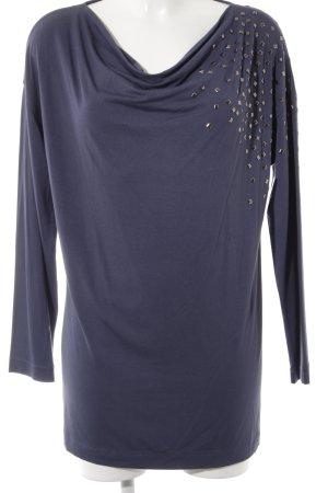 MYBC Longshirt dunkelblau Casual-Look