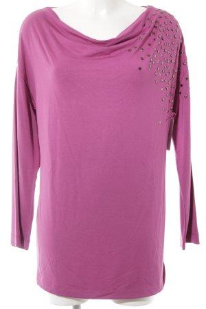 MYBC Longshirt violett Casual-Look