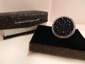 """MYC Paris - Ring """"Ozean"""" mit Swarovski®-Kristallen, Gr. 56 - Neu"""