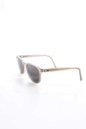 Mykita ovale Sonnenbrille graubraun Beach-Look