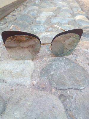 MYKITA Sonnenbrille Pastell-rose-silber