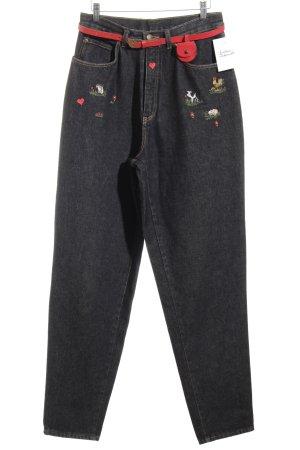 mylott Pantalone tradizionale multicolore stile romantico