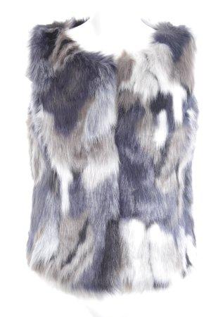 Mymo Smanicato di pelliccia Colore sfumato stile casual