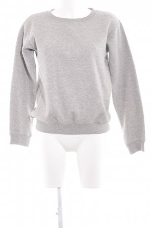 Mymo Sweatshirt hellgrau Casual-Look