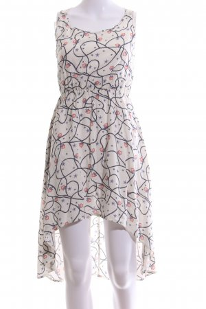 Mymo High Low Dress allover print casual look