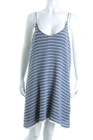 MYNE Minikleid weiß-dunkelblau Ringelmuster Street-Fashion-Look
