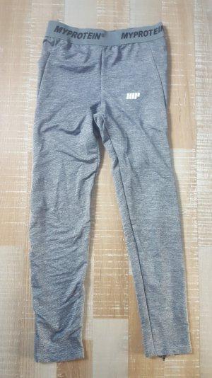 MyProtein Sport Fitness Core Leggings Hose grey M L UK 12 Neu