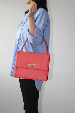 MySuelly Paris Leder Handtasche in Pink