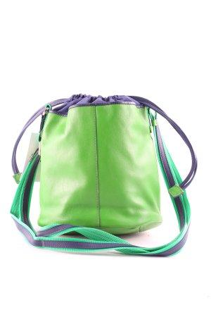mywalit Borsa a spalla verde-blu scuro stile atletico