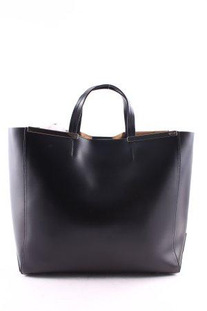"N°21 Handtasche ""Pelleteria Calf Leather Shopping Bag Nero"""