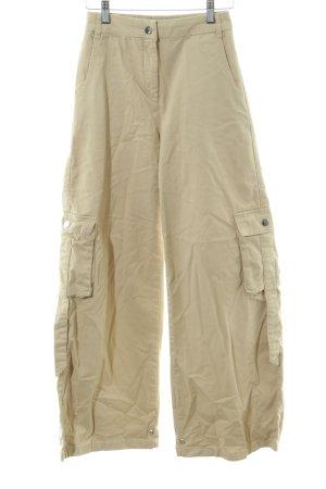 NA-KD Pantalón de camuflaje amarillo claro look casual