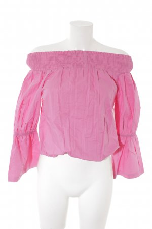 NA-KD Carmen-Bluse pink Casual-Look