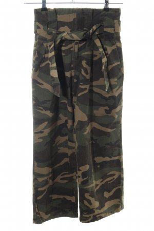 NA-KD Culottes khaki Camouflagemuster Casual-Look