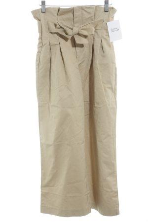 NA-KD Pantalone culotte beige elegante