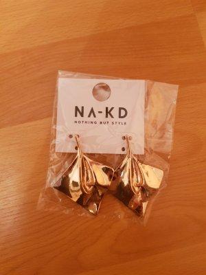 NA-KD Pendientes de oro color oro