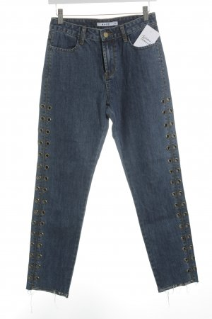NA-KD High Waist Jeans graublau Casual-Look