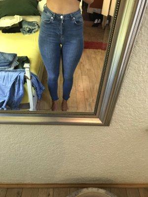 NA-KD Hoge taille jeans veelkleurig