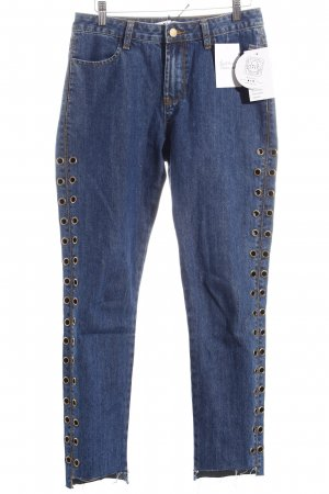 NA-KD Jeans blau Street-Fashion-Look