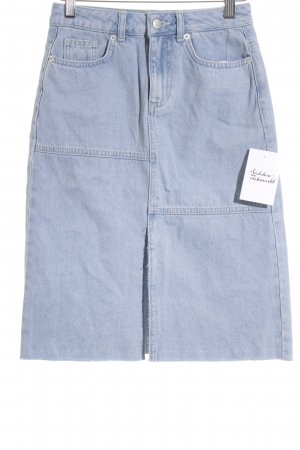 NA-KD Jeansrock himmelblau Jeans-Optik