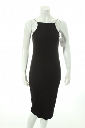 NA-KD Jerseykleid schwarz