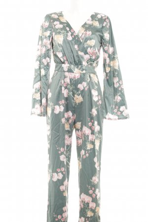 NA-KD Jumpsuit Blumenmuster Casual-Look