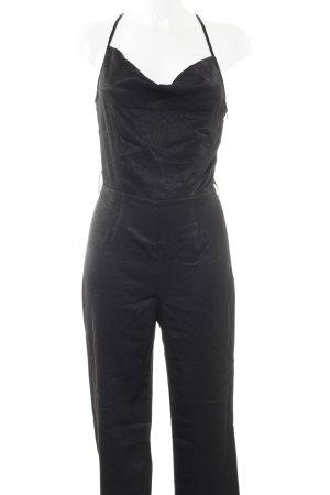 NA-KD Jumpsuit schwarz schlichter Stil