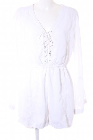 NA-KD Combinaison blanc style Boho