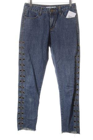 "NA-KD Jeans carotte ""Eyelet Denim Pant """
