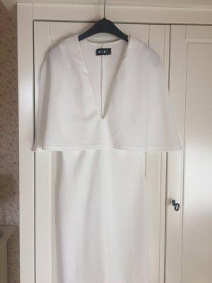 NA-KD Kleid mit tiefem Ausschnitt