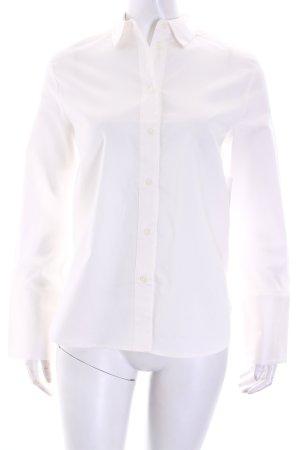 NA-KD Langarm-Bluse weiß extravaganter Stil