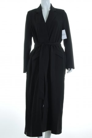 "NA-KD Mantel ""Side Slit Trenchcoat"" schwarz"