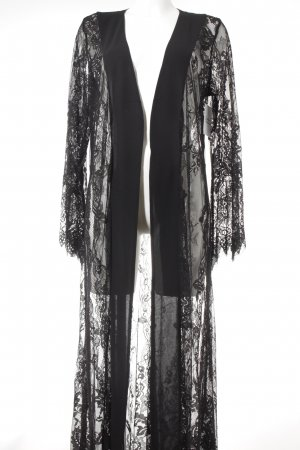 NA-KD Dressing Gown black extravagant style