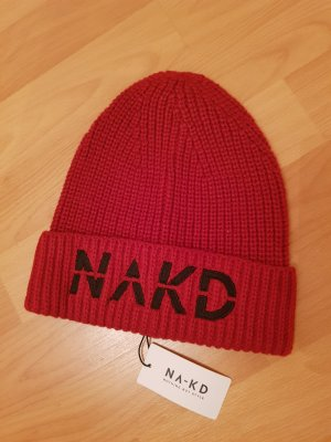 NA-KD Knitted Hat multicolored