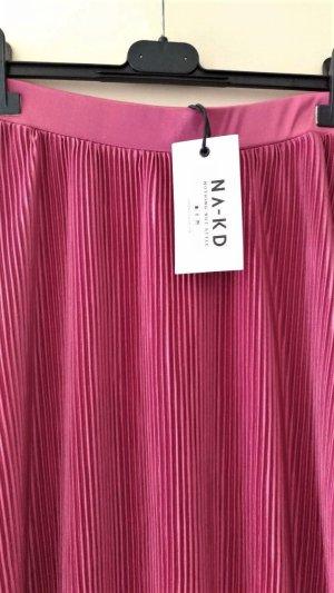 NA-KD Jupe asymétrique magenta polyester