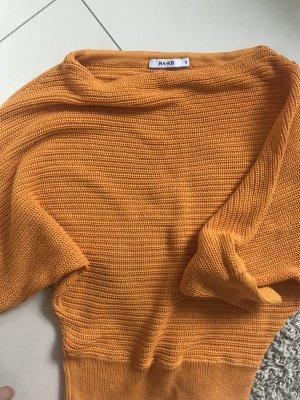 NA-KD Off shoulder Oberteil Orange
