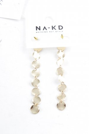 NA-KD Dangle gold-colored party style