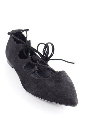 NA-KD Römer-Sandalen schwarz schlichter Stil