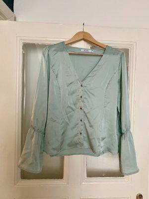 NA-KD Blusa de seda multicolor