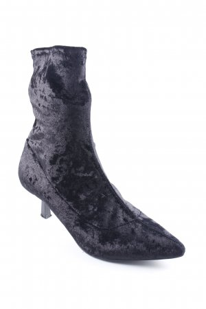 NA-KD Schlüpf-Stiefeletten schwarz Elegant