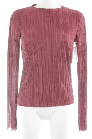 NA-KD Schlupf-Bluse magenta minimalistischer Stil
