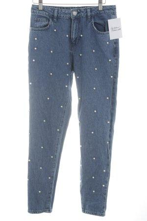 NA-KD Skinny Jeans blau Casual-Look